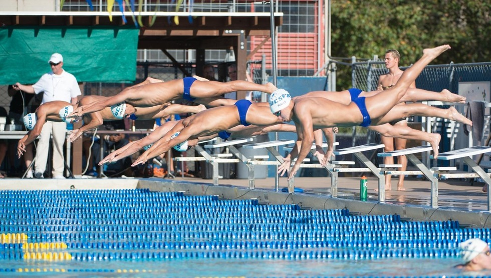 Men's Swimming Starts Season on Strong Note