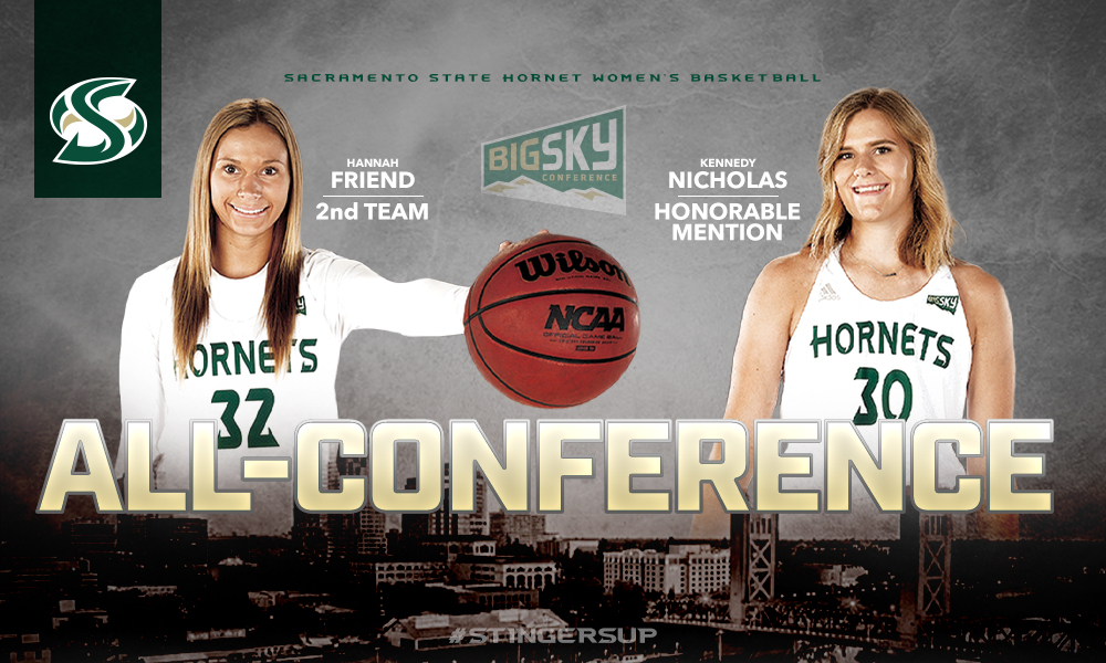 HANNAH FRIEND, KENNEDY NICHOLAS NAMED BIG SKY ALL-CONFERENCE