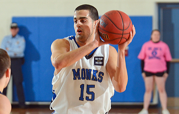 Monks Fall to Falcons in Regular Season Finale, 75-62