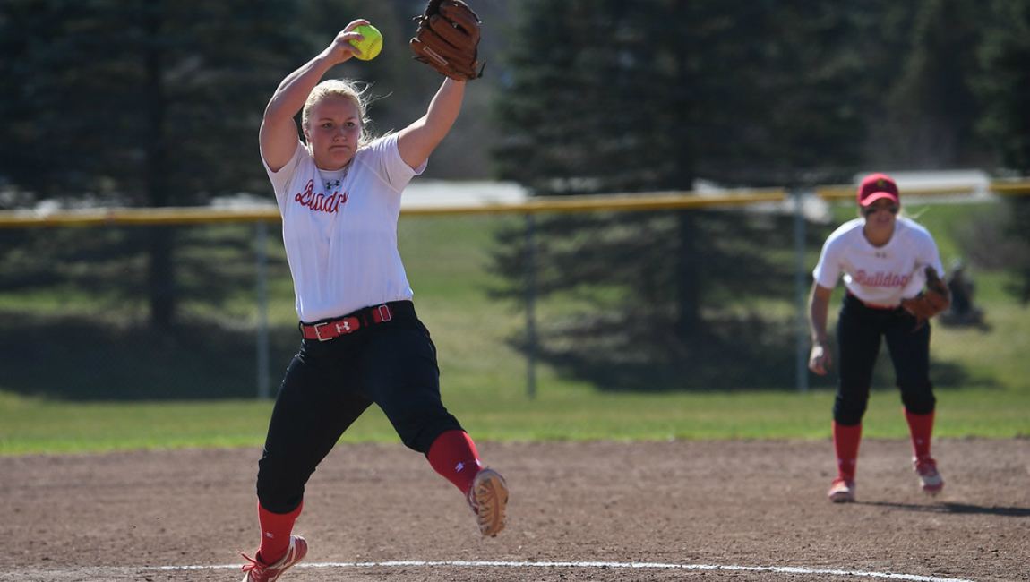 Bulldogs Drop League Softball Double Dip At Northwood In Saturday GLIAC Action