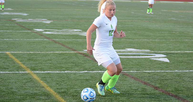 @DubC_WSoccer tallied second shutout