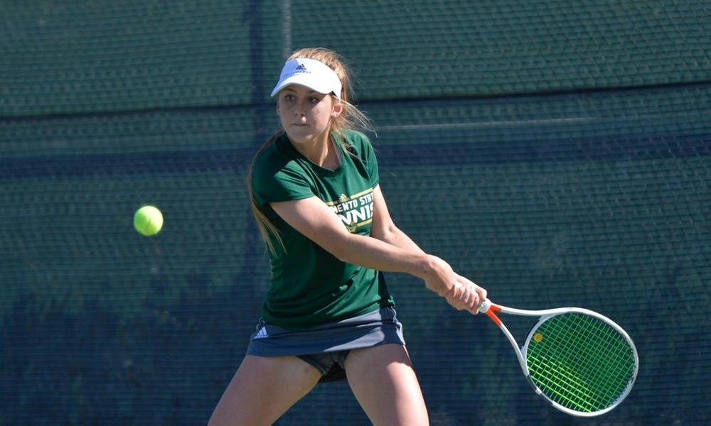 WOMEN'S TENNIS TAKES FIRST OF TWO WEEKEND MATCHES, 7-0, AT MONTANA