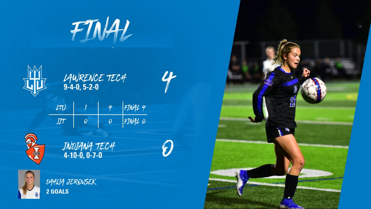 Blue Devils Storm Past Indiana Tech Warriors On Homecoming Weekend, Win 4-0