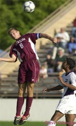 Santa Clara University Men's Soccer 2001 Season Outlook
