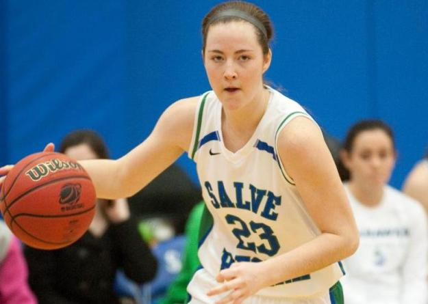 Shorey's double-double (20 points, 11 rebounds) leads Salve Regina over Gordon, 63-42.