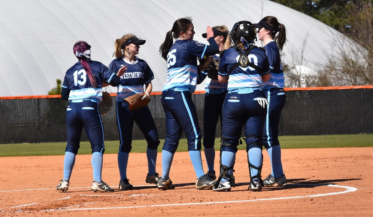 Westminster Softball Remains Undefeated in SLIAC Play with Webster Sweep