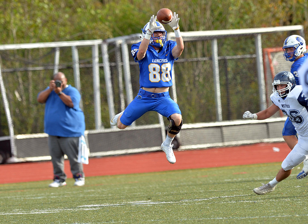 Football Upended by Bridgewater State