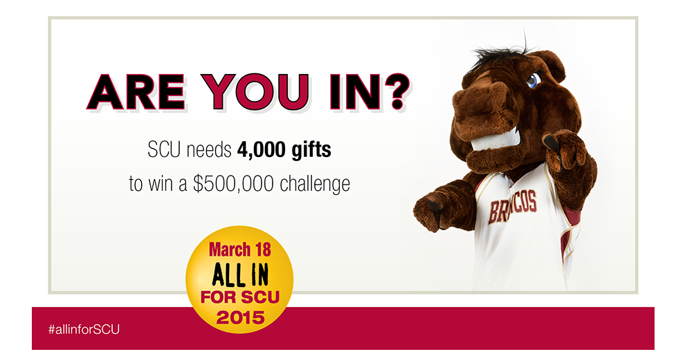 Are YOU In? Santa Clara Challenged to Receive 4,000 Gifts Today!