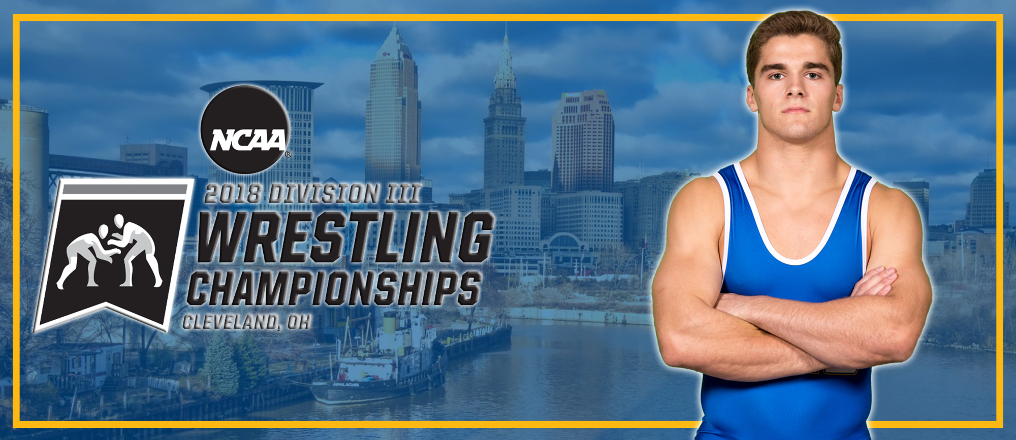John Boyle to Represent Golden Bears at NCAA Division III Wrestling Championships