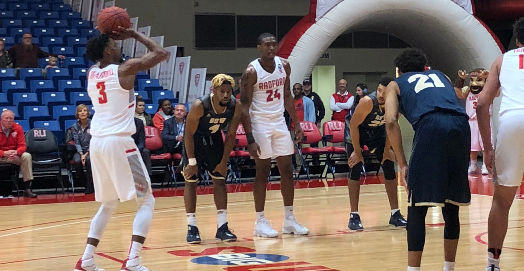 GSW Fights Before Falling At D1 Radford In Final Exhibition