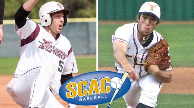 Trinity's Wolf; TLU's Snider Earns SCAC Baseball Players of the Week