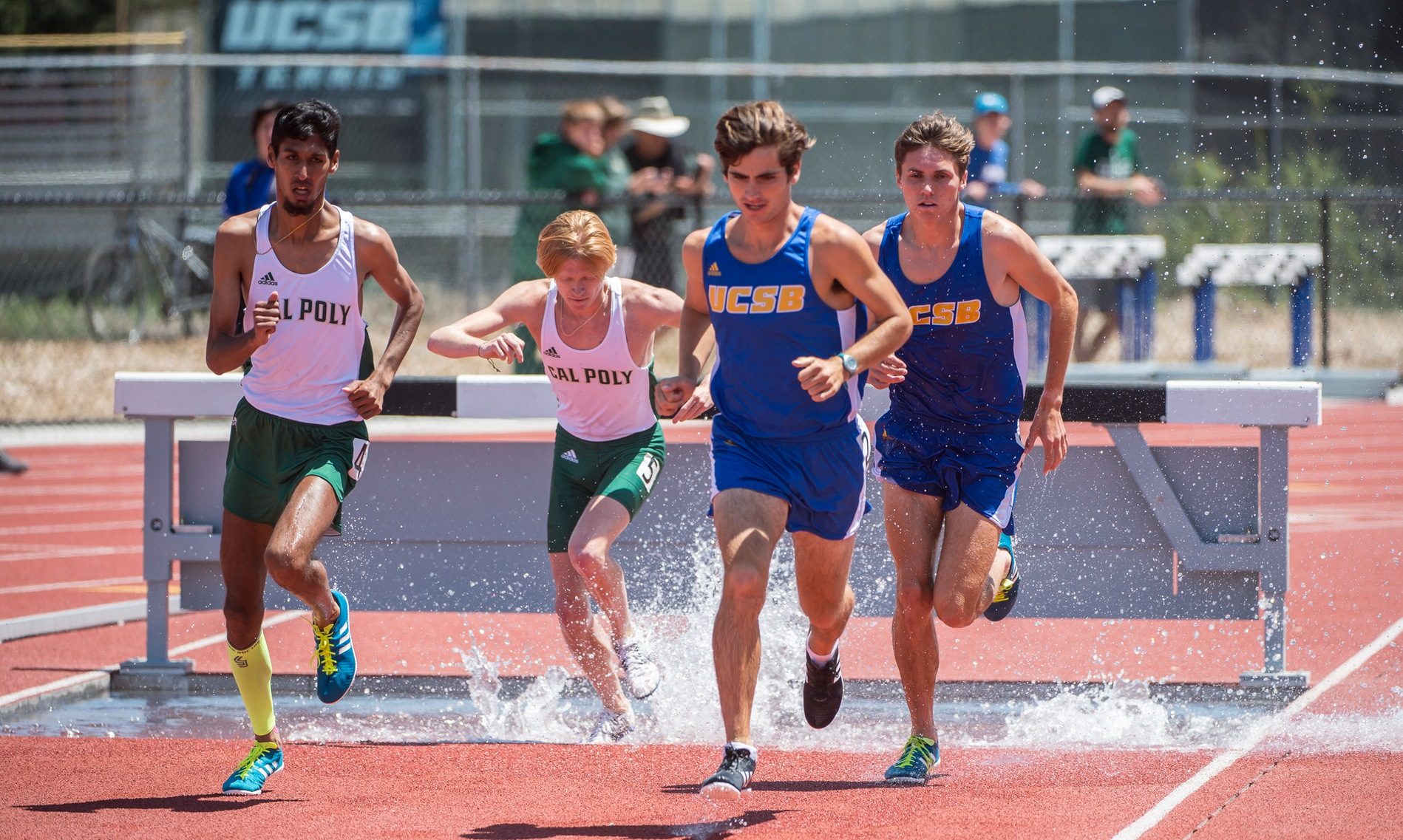 Track and Field Sweeps Both Team Titles at Cal Poly Dual
