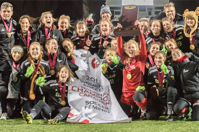 Garneau three-peats in CCAA Women's Soccer