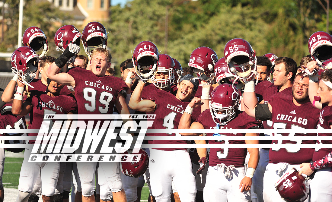 UChicago Football Tabbed for Second Place in MWC South Division