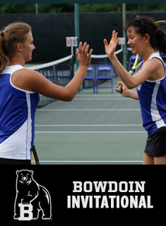 Wellesley Tennis Earns Seven Wins at Bowdoin Invitational