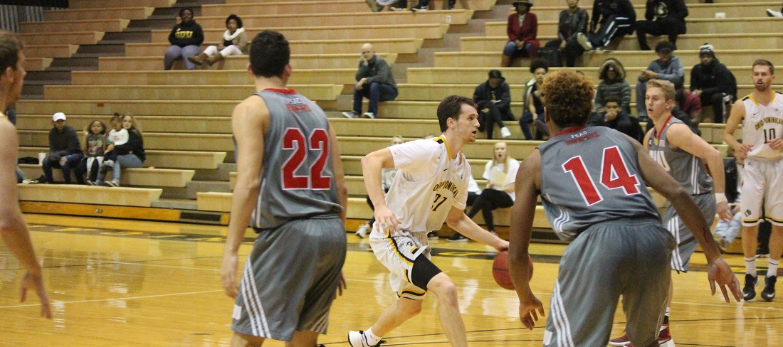 Men's Basketball Falls To Wayne State In Road GLIAC Contest