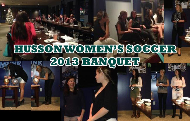 Husson Women's Soccer Celebrates 2013 Season