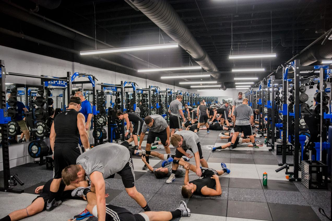 JAM Weight Room - Hillsdale College Athletics