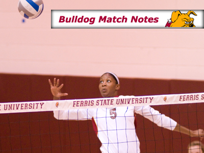 Women's Volleyball Weekly Notes (Matches 5-6)