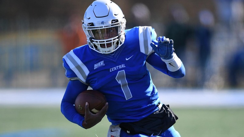 Football Completes Undefeated League Season, Wins Big on the Road at Duquesne