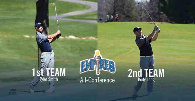 Smith & Long Earn Empire 8 All-Conference Honors as Hounds Place 3rd in Championships