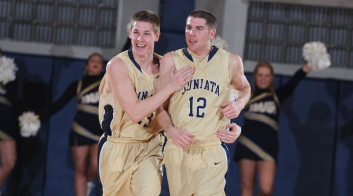 Clutch shooting at the line and taking care of the ball lead Juniata men's hoops past Catholic