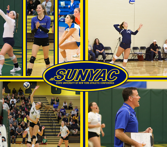 2017 SUNYAC women's volleyball awards announced