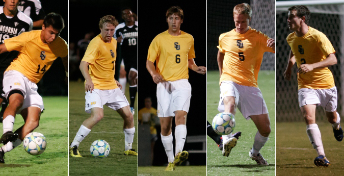 Five Pirates Earn SCAC All-Tournament Team Honors
