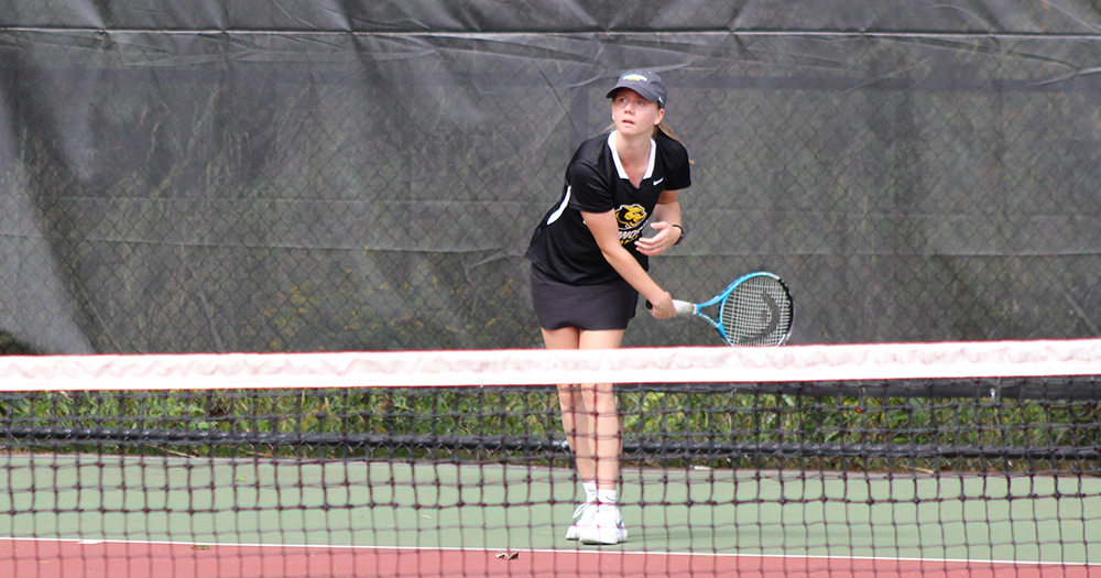 Women's Tennis Cracks League Win Column