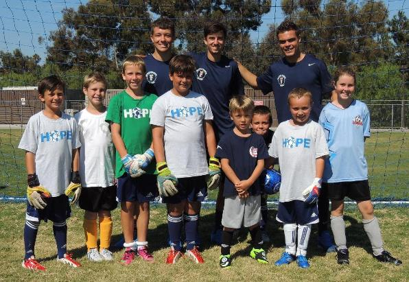 "Titans Take Time to Give Back at ""Soccer For Hope"" Camp"