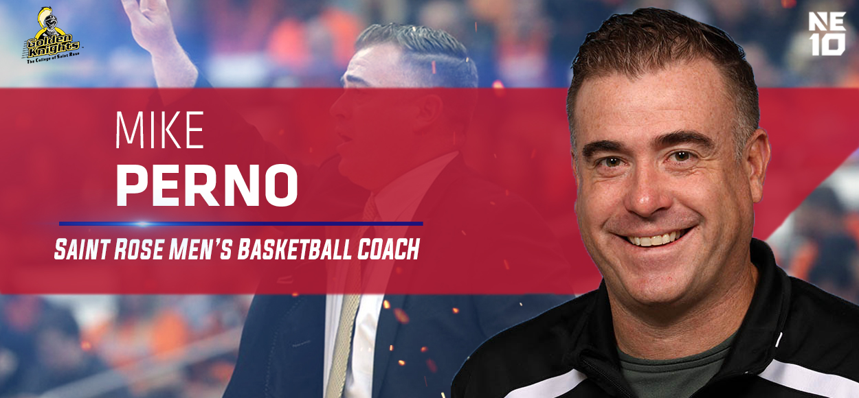 Saint Rose Officially Names Mike Perno as Men's Basketball Head Coach