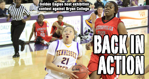 Golden Eagles host Bryan College in exhibition contest