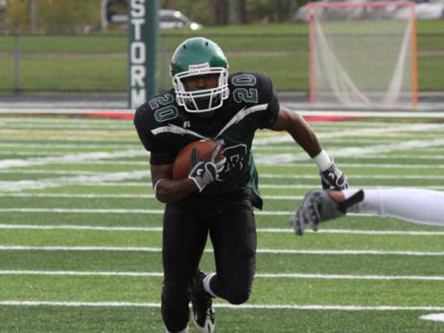 What a Rush: Storm Runs to Third Straight Win, 31-27 over Tiffin