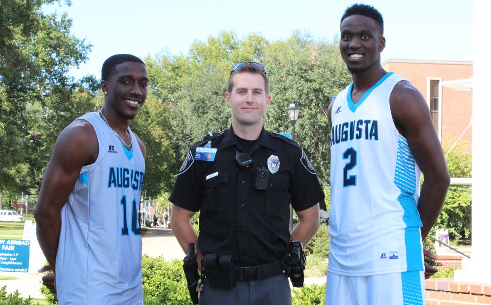 Men's Basketball Hosting Clinic For Children of the CSRA's First Responders