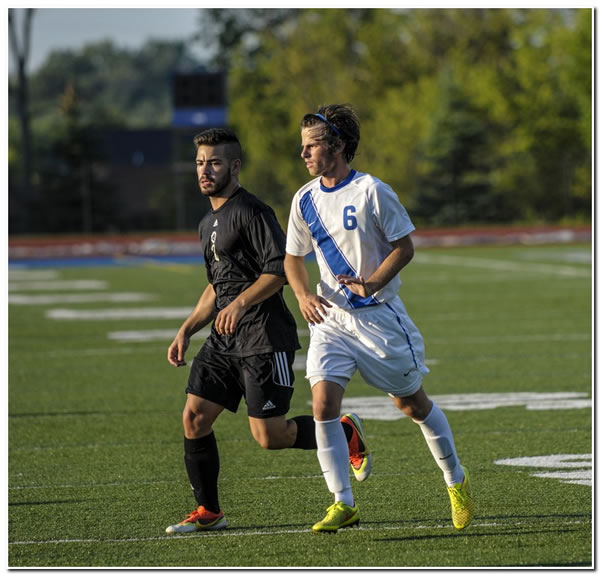 Lions' men's soccer team suffers setback at Hanover College, 4-0