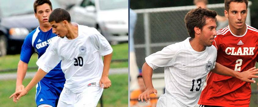 Steve Salazar '14 and Kyle Feather '14 (photos by sportspix)