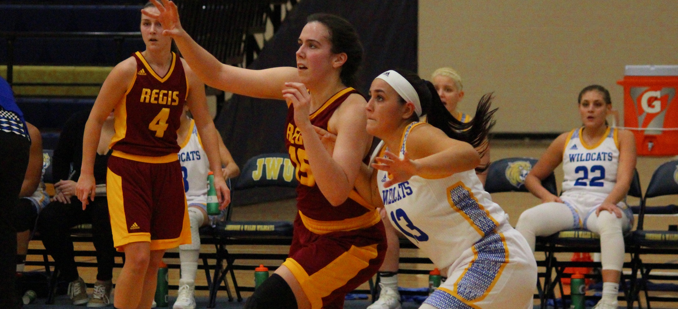 Women's Basketball Pulls Away From Rivier, Opens GNAC Tourney At Home