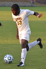 Kadeem Dacres tied his 2012 total with his fifth goal vs. Hartford