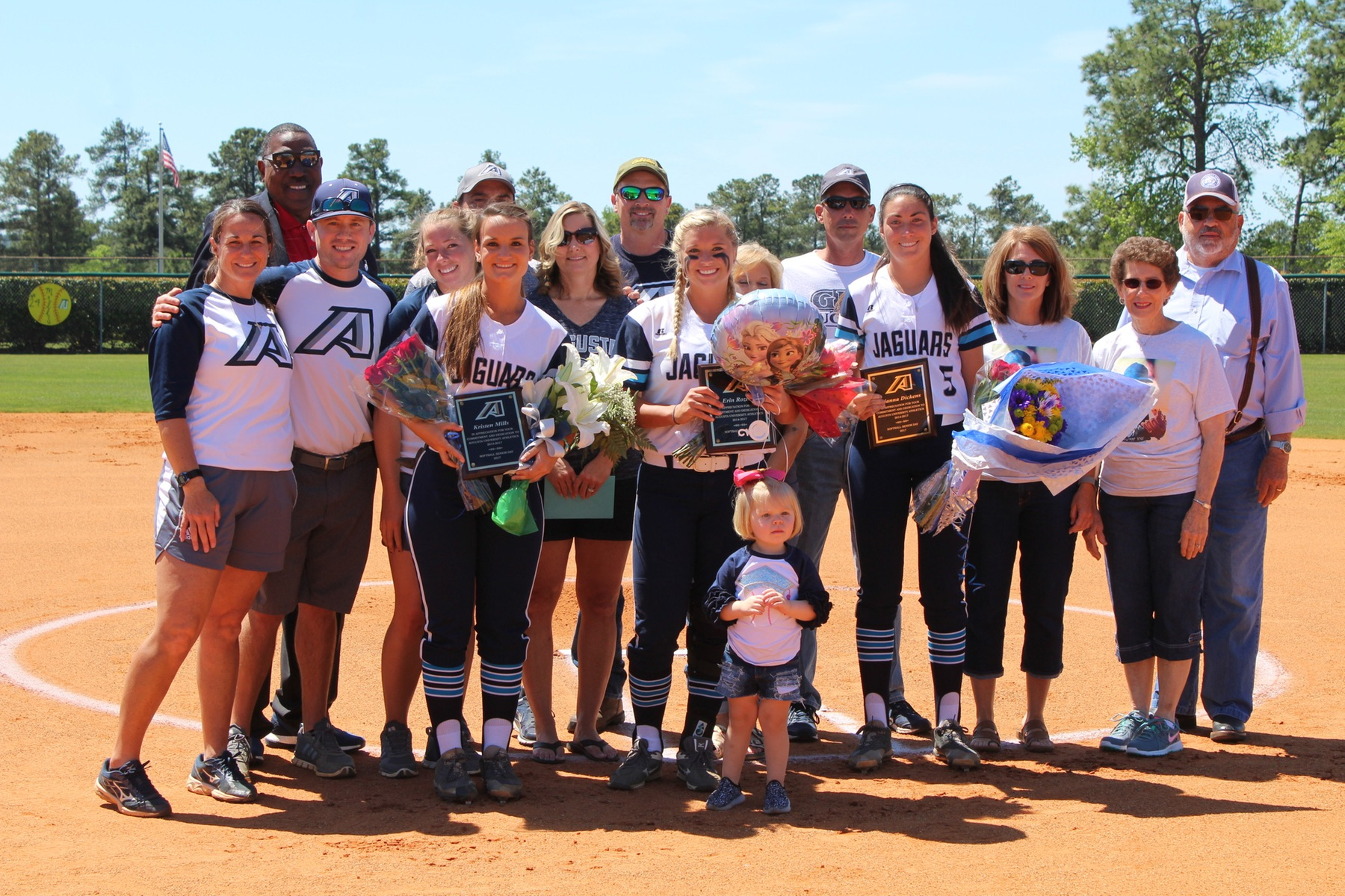 Jags Softball Celebrates Senior Day With Comeback Win Over Lander