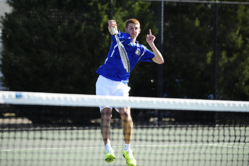 Freshman Picks Up 10th Win at First Singles for Goucher