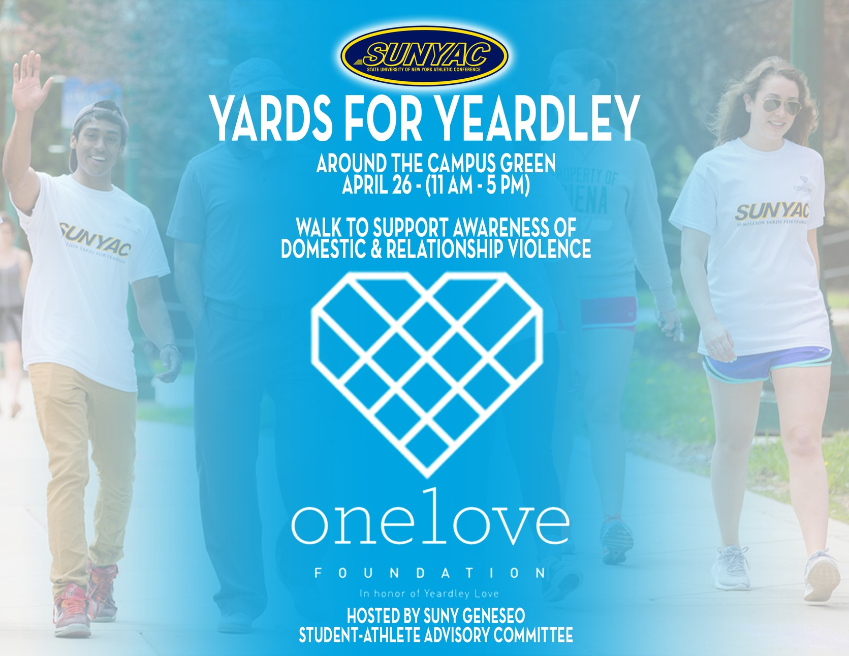 Yards for Yeardley Poster