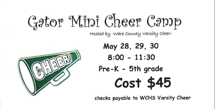 Gators Offer Mini Cheer Camp