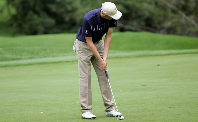 Men's Golf Finishes Fifth