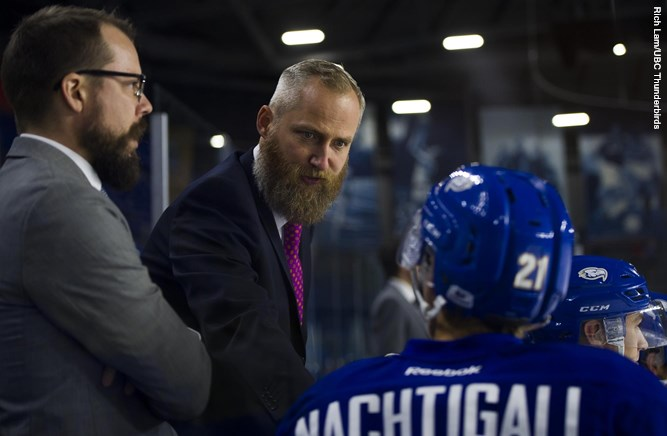 Sven Butenschon hired as full-time UBC men's hockey coach