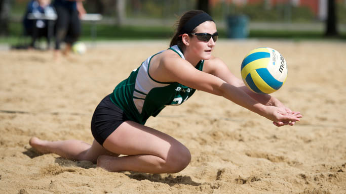 SAND VOLLEYBALL WRAPS UP WEEKEND WITH LOSSES TO PACIFIC AND STANFORD