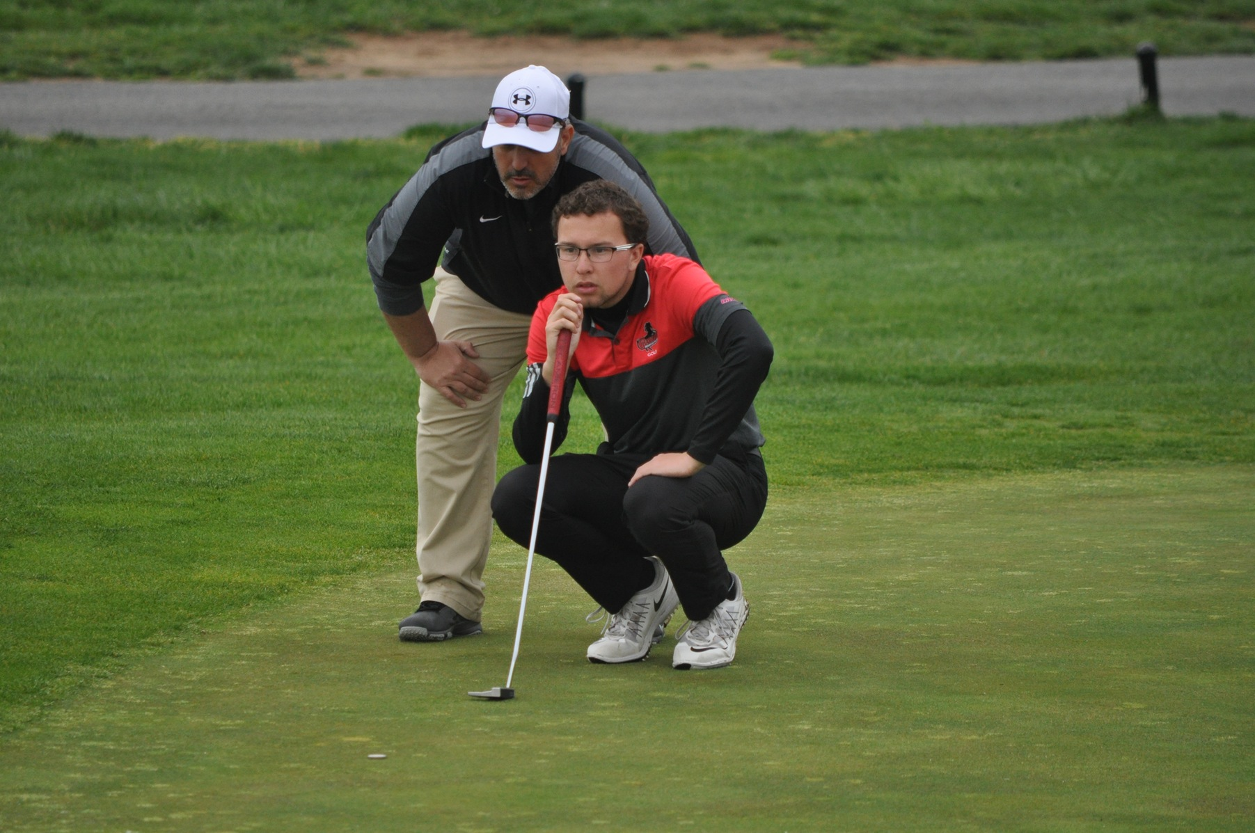 MEN'S GOLF IN SECOND PLACE AFTER ROUND ONE OF NCAA DIVISION II ATLANTIC/EAST REGIONAL