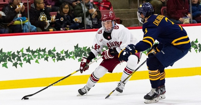 Harvard Offense Too Strong for Quinnipiac in Top-20 Matchup