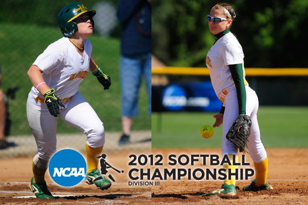 Amy Baumgardner and Caroline Brehm were named to the all-tournament team � 2012 David Sinclair/McDaniel College