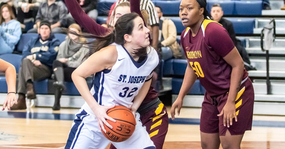 Mount Saint Vincent Rolls to Win Over Women's Basketball