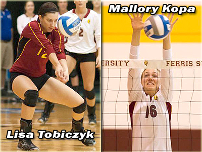 FSU Volleyball Duo From Marysville Featured